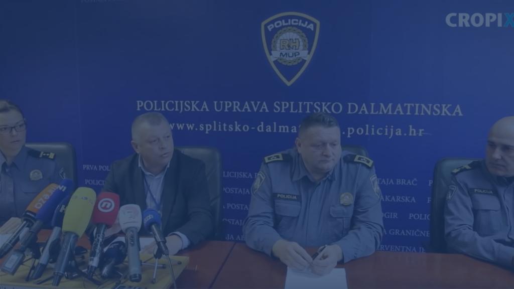 Konferencija za medije splitske policije